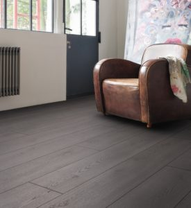 Haro Laminate Flooring - Oak Contura Black | Laminate Flooring