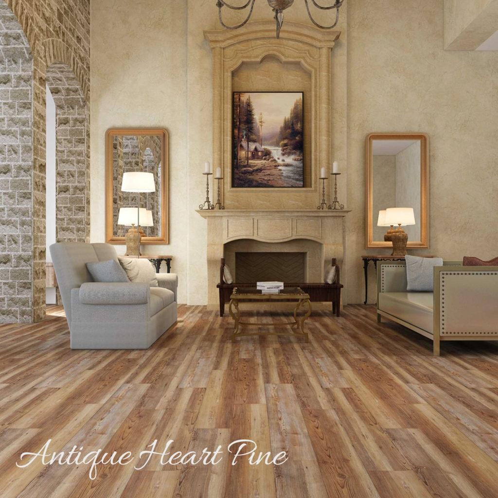 Gulf Coast Flooring - Antique Heart SPC